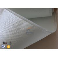 Quality 3732 0.4mm Satin Glass Fibre Cloth / Fire Resistant Fiberglass Fabric wholesale