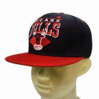 Quality Flat Peak Sports Cap, Customized Designs are Accepted wholesale