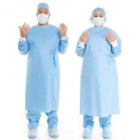Quality Medical Disposable Surgical Gown Cosy And Sweat Absorbing For Hospital / Lab wholesale