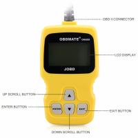 Quality OBDMATE OBD2 JOBD EOBD Car Fault Vehicle Code Reader Scanner wholesale