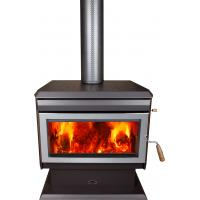 Quality 17KW Indoor Wood Burning Furnace , Wood Burning Heaters With Fire Brick wholesale