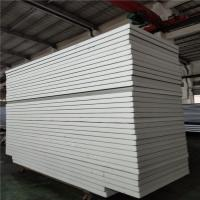 Quality white color sheet 0.326 insulated eps sandwich panel 11900x1150x75mm for office wholesale
