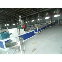Quality Wood Composite Plastic Profile Production Line For Skirting , Wood Composite Profile Extrusion Manchine wholesale