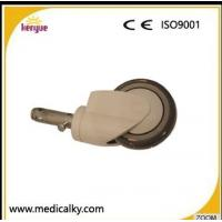 Quality Industrial Hospital Bed Casters , TPR PP Core 5 Inch Caster Wheels For Hospital Beds wholesale