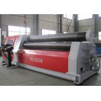 Quality Heavy Duty Aluminium Sheet Rolling Machine , Hydraulic Roll Bending Machine 37KW wholesale