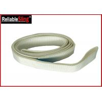 Buy cheap White Polyester Flat Lifting Belt Endless Webbing Sling SF 7 CE GS Certified from wholesalers