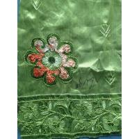 Quality Kintted Sequin Embroidered Fabric For party , Embroidered Chiffon Fabric wholesale