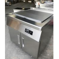 China Commercial Electric Induction Griddle Restaurant Stainless Steel Griddle on sale