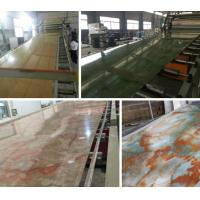 Quality Compact PVC / Marble / Plastic Board Extrusion Machine High Performance wholesale