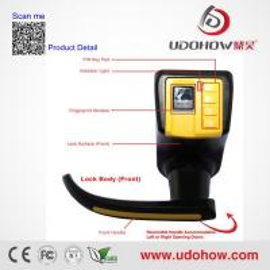 Quality Adel keypad biometric fingerprint door lock wholesale