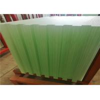 Quality Solar Energy Ultra Clear Tempered Glass Textured Solid Structure 3.2mm 4mm Thickness wholesale