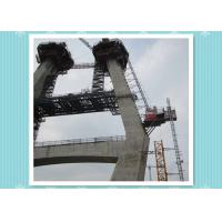 Buy cheap Power Plant Permanent Building Hoist Lift Chimney Tower Elevator 1200kg Loading from wholesalers