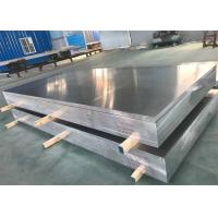 China Aerospace Bare Flat Aluminum Sheet High Strength 7075 In Silver Color on sale
