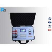 Quality 9 KG Transformer Testing Equipment , Contact Resistance Meter 0.1μΩ Resolution wholesale