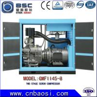 Quality High Efficient 45kw Stationary High Volume Air Compressor 6.5-9.8m³ / Min wholesale