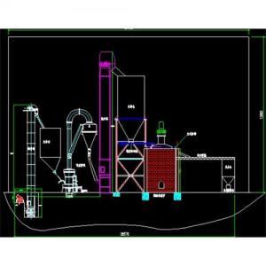 China Gypsum powder production machine on sale