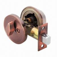 Quality Deadbolt/Entrance Door Lock, Made of Iron and Stainless Steel wholesale