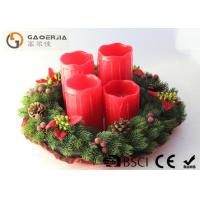 Quality Red Color Decorative Led Candles With Remote Control D8.5X12/14/16/18cm wholesale