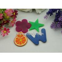China Cheap single color blue green red color alphabet star flower different kinds of shape fridge magnets for promotion on sale