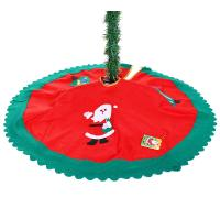China christmas tree skirt / Xmas tree skirt / christmas tree decoration on sale