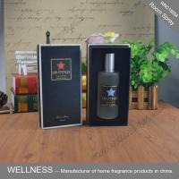 Quality Portable Room Fragrance Spray , Christmas Fragrance Room Spray In Round Glass Bottle wholesale
