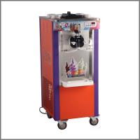 China 3 Flavors Soft Serve Ice Cream Making Machine With Stainless Steel 1 Year Warranty on sale