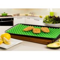 Quality 100% Food Grade Healthy BBQ Baking Silicone Table Pad Pyramid Pan Silicone Food Mat wholesale