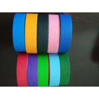 Quality Crepe Paper Colored high quality Masking Tape Automotive Decorative Masking Tape wholesale