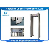 Quality Economic Security Baggage Scanner 18 Zones Color Customized For Metro Station wholesale