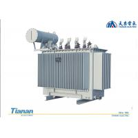Quality 10 - 35 KV Oil Immersed Distribution Transformer 20 KV Three Phase Copper Winding wholesale