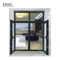 Quality Double Glazing Glass Aluminum Casement Windows For Commercial Office Building wholesale