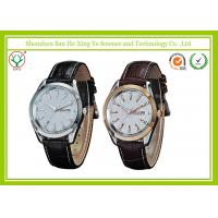 Quality Alloy Case Casual Men Sport Watches Japan Movement With Logo Embossed for sale