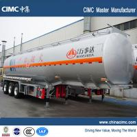 Quality tri-axle 45000 liters fuel truck semi trailer for sale wholesale