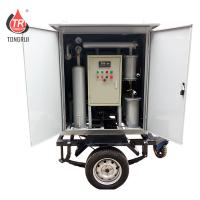 Quality Single Stage Mobile Oil Treatment Plant High Vacuum Transformer Oil Filter Machine wholesale
