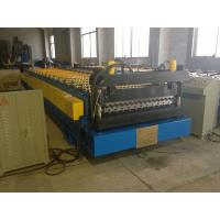 Quality High Speed Corrugated Wall And Siding Panel Roll Forming Machine , Metal Wall Siding  Sheet Making Machine wholesale