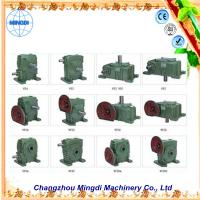 Quality Flange mounted WPA/WP 33kw Cast Ironl Worm Industrial Gearbox with Electric Motors wholesale
