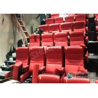 Quality Immersive 4D Cinema Equipment With Electric System And Customized Seats Number wholesale