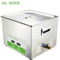 Quality Powerful Ultrasonic Sieve Cleaner For Your Lab 15L 300W with Heating wholesale
