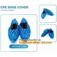 Quality PE material blue shoe cover cheaper disposable plastic shoe cover,Low Price plastic shoe cover medical,bagease bagplasti wholesale