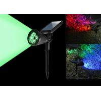 Buy cheap 7 Colors Changing Solar LED Garden Lights , Solar Powered Led Pole Lights from wholesalers