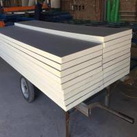 Quality Solid Durable Roofing PU Insulation Panel Fire Resistant Easy Assembly wholesale