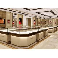 Quality Stable Structure Showroom Display Cases Easy Install For Jewelry Retail Store wholesale