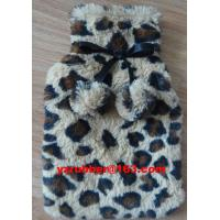 China hot water bottle cover on sale