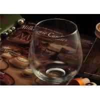 Quality Morden Clear Wine Glass Tumbler / 20 Ounce Drinking Glasses Recyclable wholesale