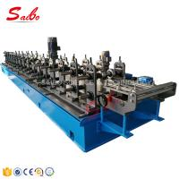 China Sheet Metal Forming Equipment / Top Hat Roll Forming Machine 16 Stations with Rectify on sale