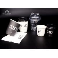 China 4oz - 16oz Custom Disposable Paper Cups Customize Branded For Hot / Cold Drinks on sale