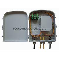 Quality Pre - Loaded Fiber Optic Termination Box Wall Mounted For FTTH Networks wholesale