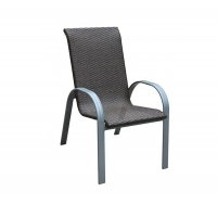 Quality 70cm Width 55cm Depth Stackable Rattan Garden Chairs  Sturdy And Durable wholesale
