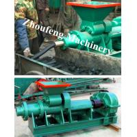Cheap coal and charcoal briquette extruder machine  Email: kelly@jzhoufeng.com for sale