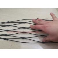 Quality Stainless Steel black oxide wire rope mesh net high strength wholesale